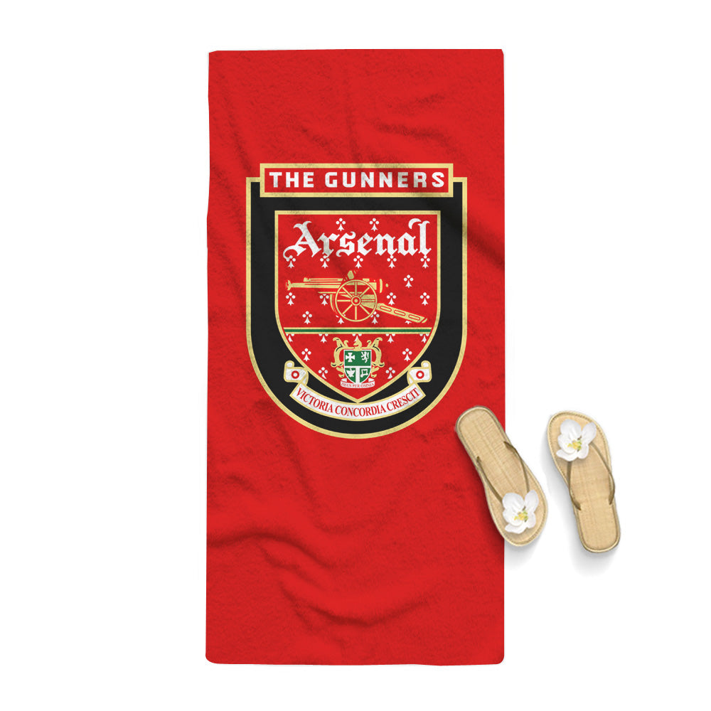 Arsenal Logo Towel