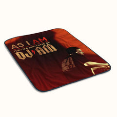 As I Am The Life and Times of DJ Am Poster Fleece Blanket