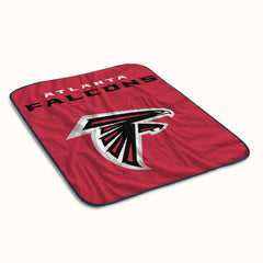 Atlanta Falcons Logo Fleece Blanket
