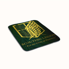 Attack on Titan Scouting Legion Fleece Blanket