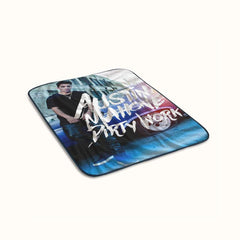 Austin Mahone Dirty Work Fleece Blanket
