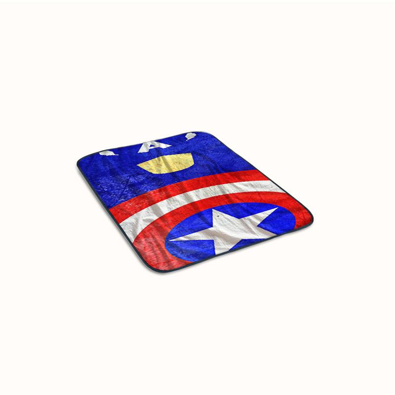 Avengers Captain America Art Fleece Blanket