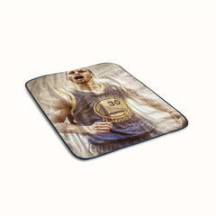 Basketball MVP Stephen Curry Fleece Blanket