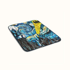Batman Starry Night Fleece Blanket