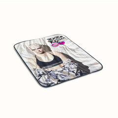 Bebe Rexha No Broken Hearts Fleece Blanket