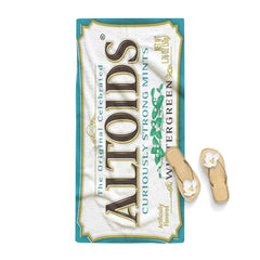 Blue Altoids Wintergreen Towel