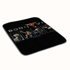 Bon Jovi Tour Fleece Blanket