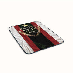 Bruno Mars Magic Logo Fleece Blanket