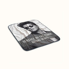 Bruno Mars Versace on The Floor Fleece Blanket