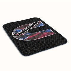 CUMMINS Turbo Diesel Logo Fleece Blanket