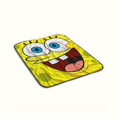 Cartoon Spongebob Squarepants Fleece Blanket