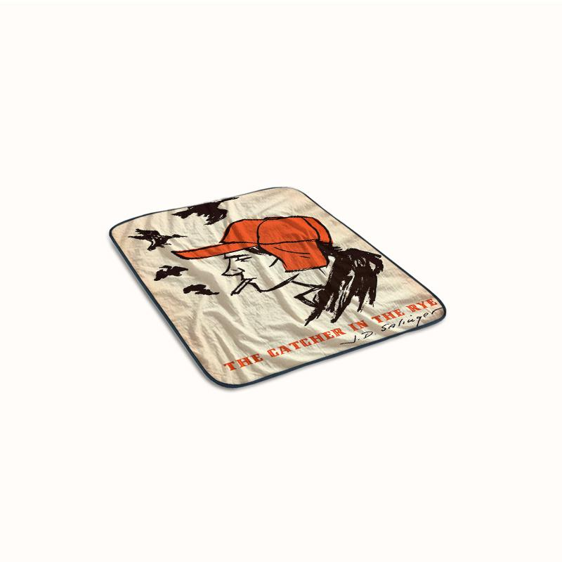 Catcher in the rye Fleece Blanket