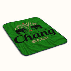 Chang Beer Logo Fleece Blanket