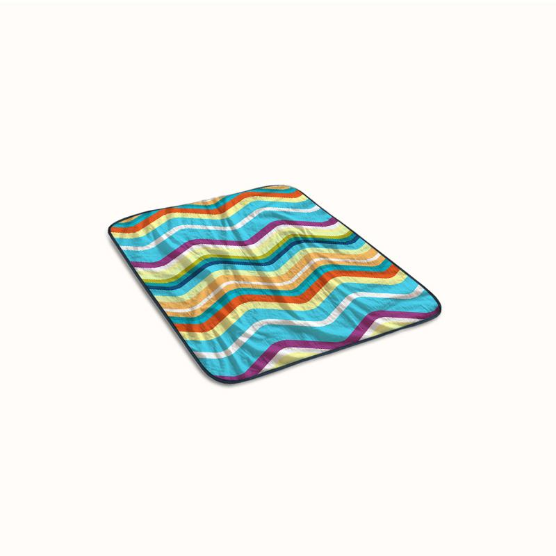 Chevron Fleece Blanket