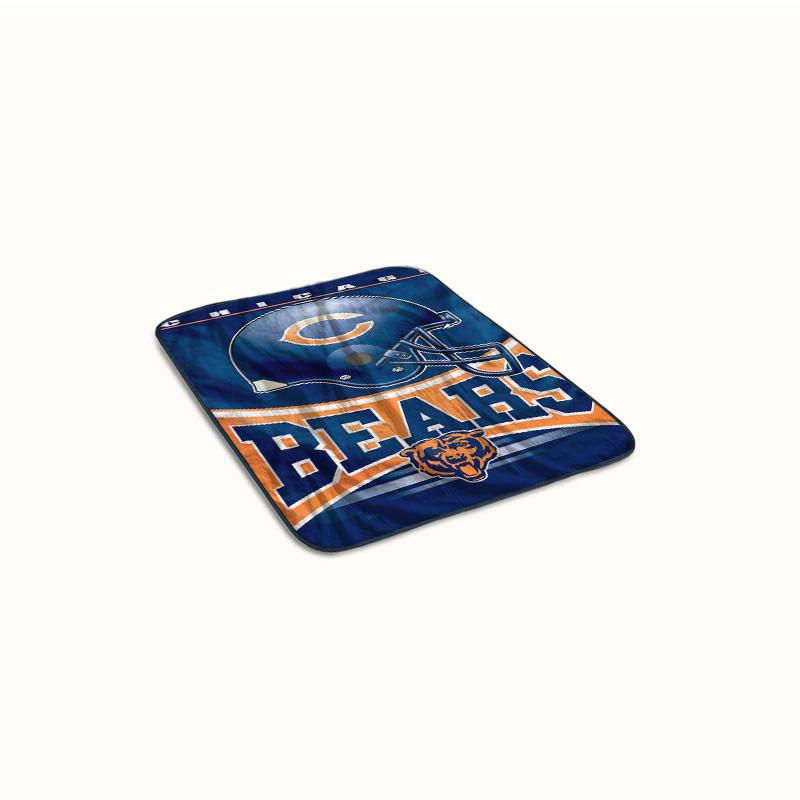 Chicago Bears Logo Fleece Blanket