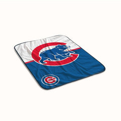 Chicago Cubs Logo Fleece Blanket