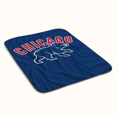 Chicago Cubs Team Logo Fleece Blanket