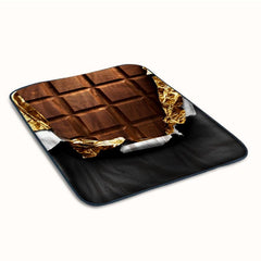 Chocolate Bar Fleece Blanket