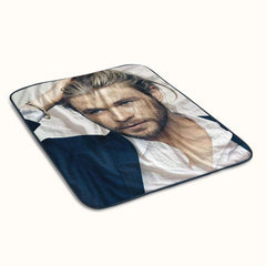Chris Hemsworth Fleece Blanket