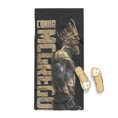 Conor McGregor Gold King UFC Towel