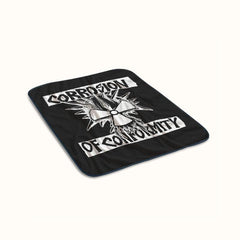 Corrosion of Conformity Logo Fleece Blanket