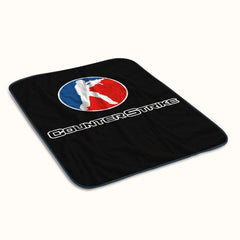Counter Strike Logo Fleece Blanket