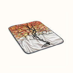 Dave Matthews Band Browning Deer Logo Fleece Blanket