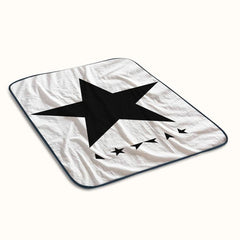 David Bowie BlackStar Fleece Blanket