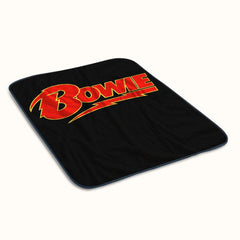 David Bowie Logo Fleece Blanket