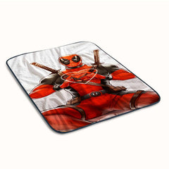 Deadpool Love Heart Fleece Blanket