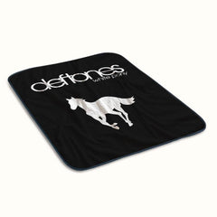 Deftones White Pony Fleece Blanket