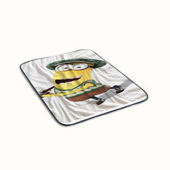 Despicable me Minions Funny Golf Fleece Blanket