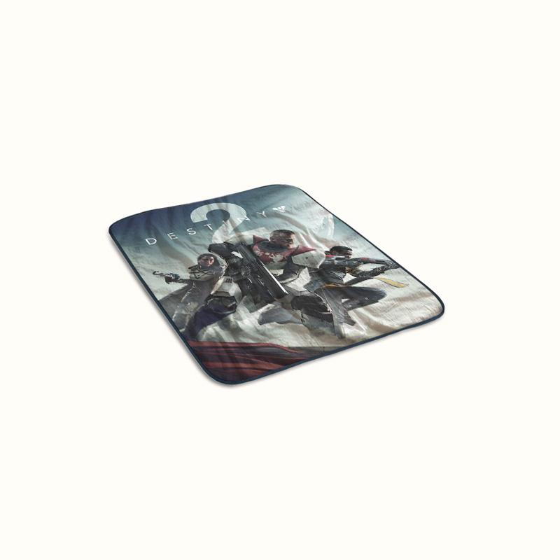 Destiny 2 Cover Fleece Blanket
