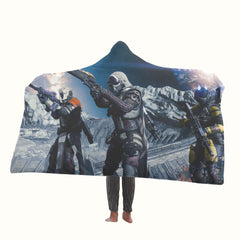 Destiny Video Game All Character Hooded Blanket