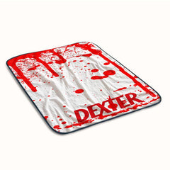 Dexter Pattern Fleece Blanket