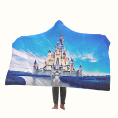 Disney Castle Hooded Blanket