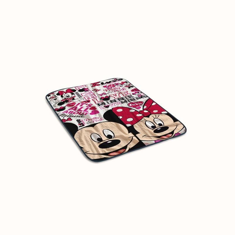 Disney Mickey and Minnie Collage Fleece Blanket
