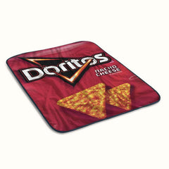 Doritos Nacho Cheese Fleece Blanket