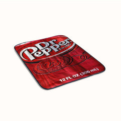 Dr Pepper Fleece Blanket