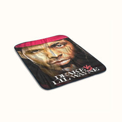 Drake VS Lil Wayne Fleece Blanket
