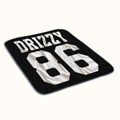 Drizzy 86 Fleece Blanket