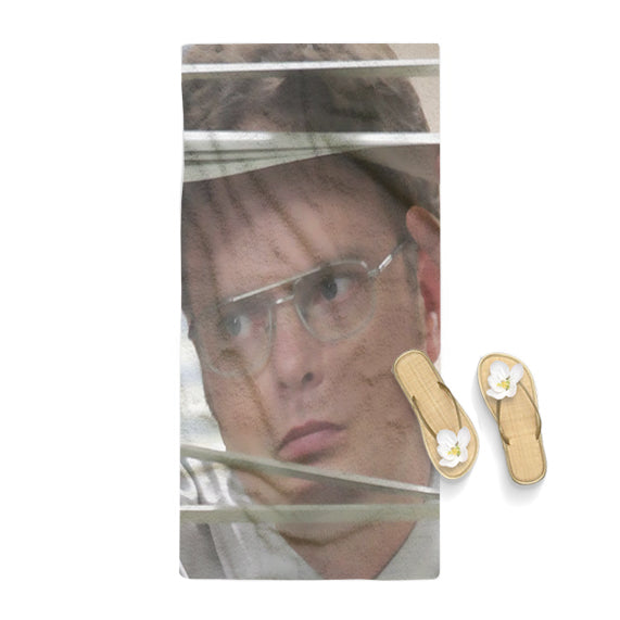 Dwight Schrute Poster Towel