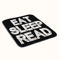 Eat Sleep Read Fleece Blanket