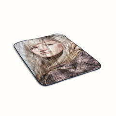 Ellie Goulding Cute Fleece Blanket