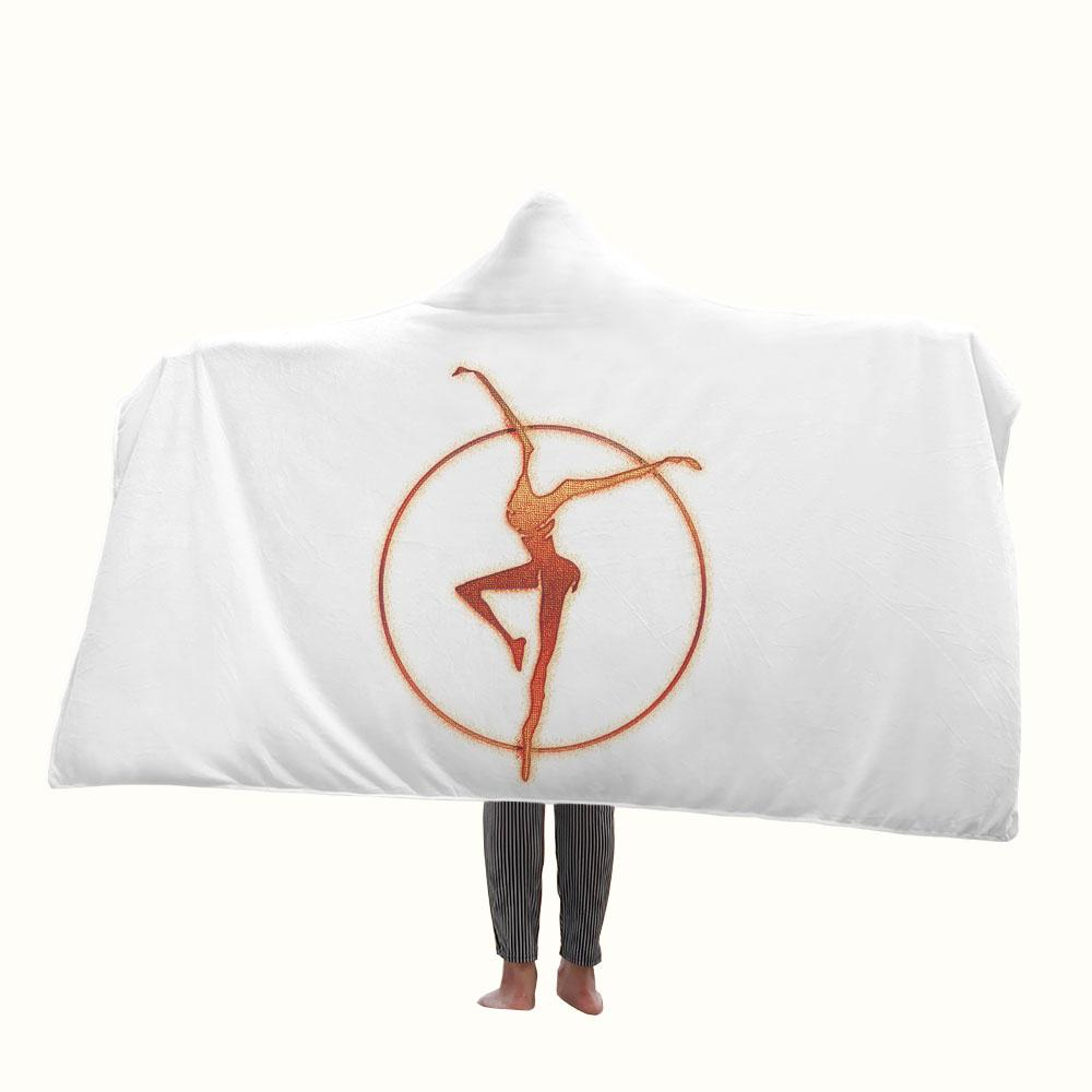 Fire Dancer Dave Matthews Band Hooded Blanket