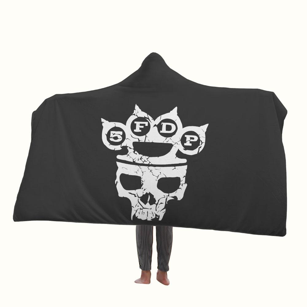 Five Finger Death Punch Logo Hooded Blanket