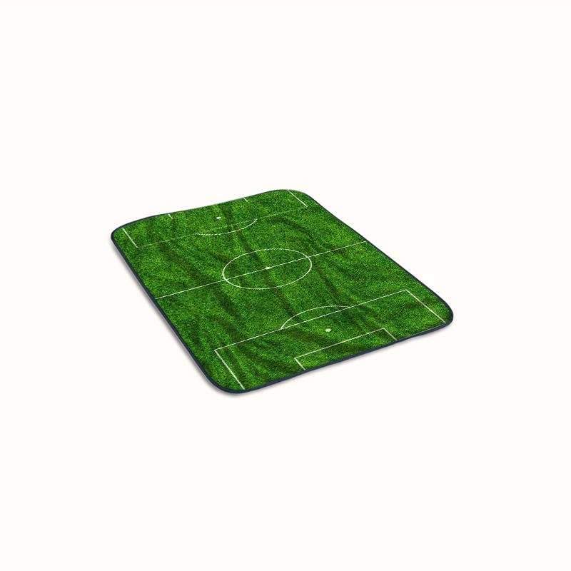 Football Field Pattern Fleece Blanket