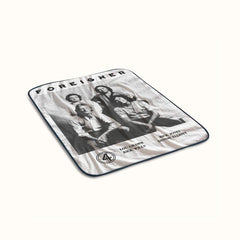Foreigner Poster Fleece Blanket