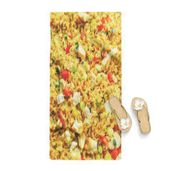 Fried Rice Funny Poster Towel