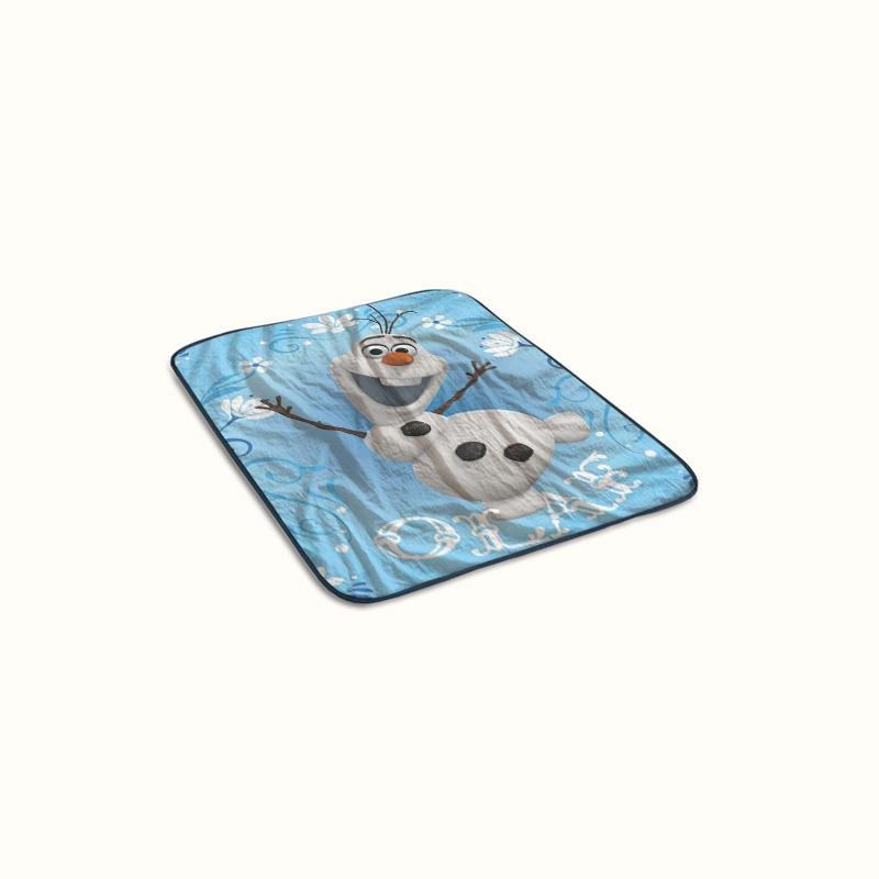 Frozen Olaf Fleece Blanket